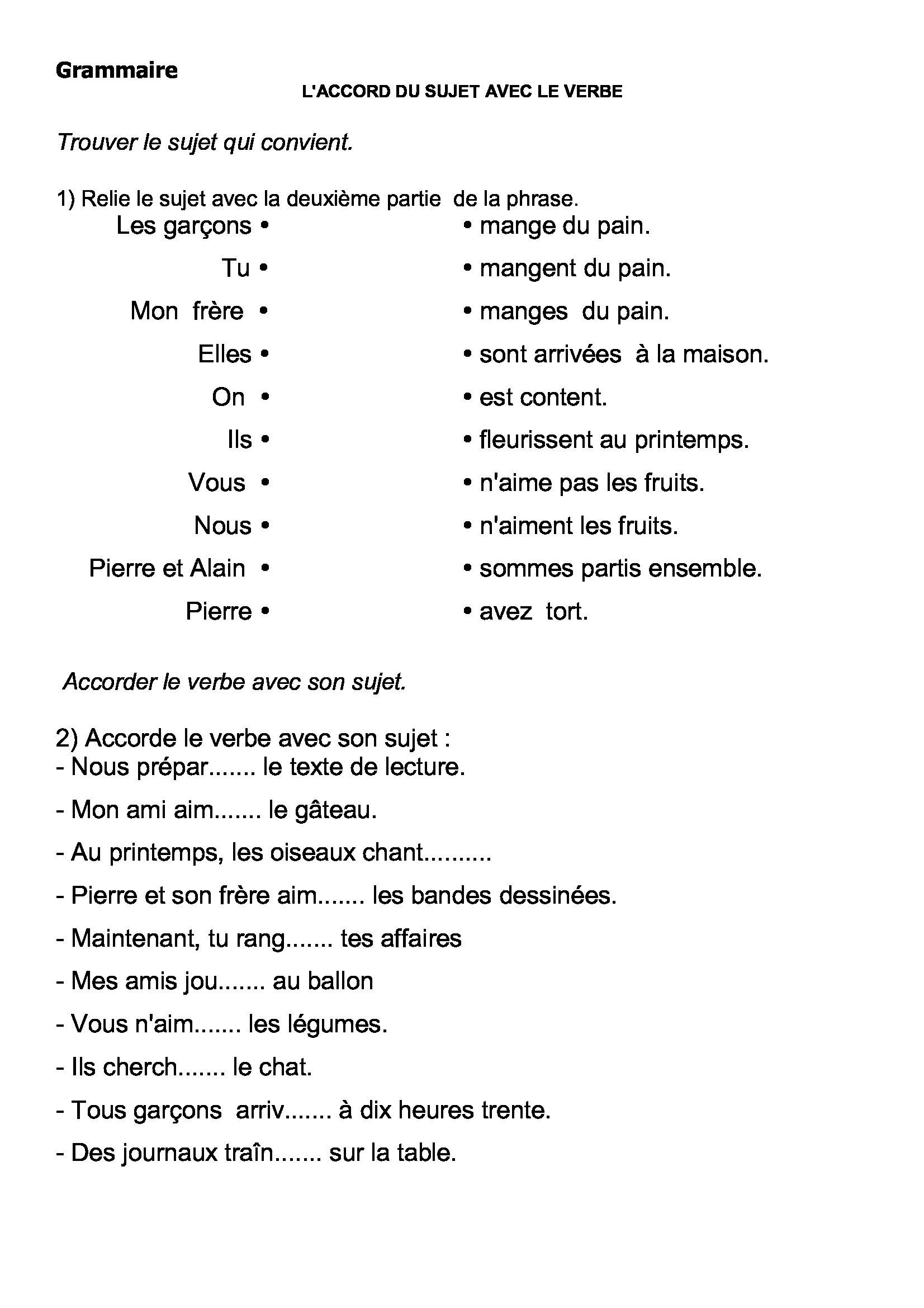Favori grammaire français: évaluations et exercices ce2, cm1 et cm2 TT89